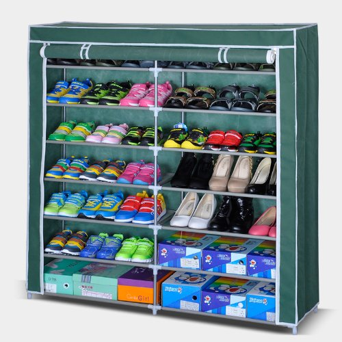 Storia Double Cabinet Shoe Rack Organizer Large Covered Ious Color As Per Availability Size Length 118 X Width 30
